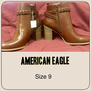 American Eagle Ankle Boots Size 9 NEW!